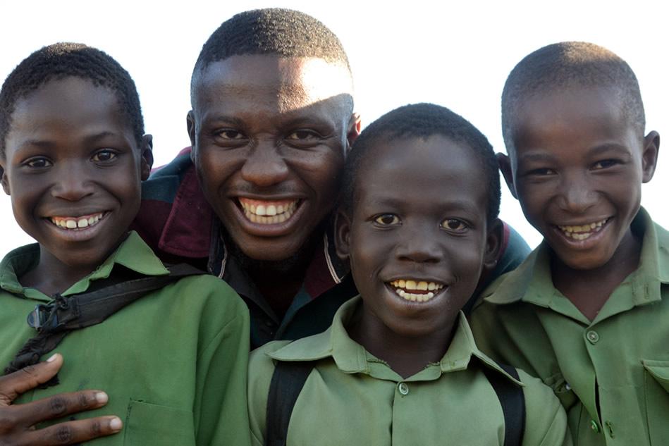 Mark Mukunga and sons - June 2017